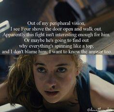 Tris in fight scene