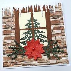 KvetaP / Vianočná pohľadnica Scrapbooks, Christmas Cards, Flag, Art, Christmas E Cards, Art Background, Xmas Cards, Kunst, Scrapbooking