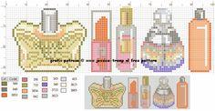 borduurpatroon parfumfles (102).png (830×430)