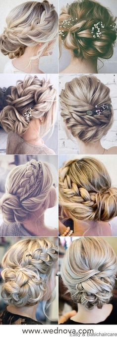 48 Easy Wedding Hairstyles Best Guide for Your Bridesmaids in 2019 : Messy low bun loose boho updo bridal hairs wedding hairstyles with beautiful hair pins hairstyleswedding hairstyles Bridal Hair Half Up, Wedding Hairstyles Half Up Half Down, Bridal Hair Updo, Wedding Hair Down, Wedding Hairstyles For Long Hair, Cool Hairstyles, Bridesmaid Hairstyles, Bridal Hairstyles, Short Hair