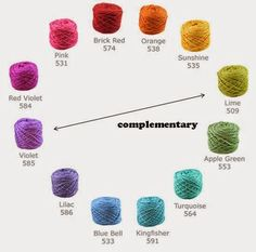 Selecting Yarns that Go Together (Complementary Colors).