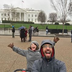 The selfie stick has upped our tourist photo taking on what's become an annual DC trip. Our daughter is already embarrassed. by tcapponi #WhiteHouse #USA