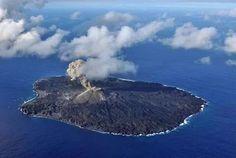 Island volcano