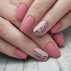False nails have the advantage of offering a manicure worthy of the most advanced backstage and to hold longer than a simple nail polish. The problem is how to remove them without damaging your nails. Trendy Nail Art, Stylish Nails, Solid Color Nails, Nail Colors, Cute Nails, My Nails, Pretty Nails, Wedding Nails Design, Rose Gold Nails