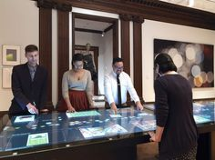 Cooper Hewitt Smithsonian Design Museum in New York hopes new interactive technologies will help attract younger museumgoers — and a new generation of donors.