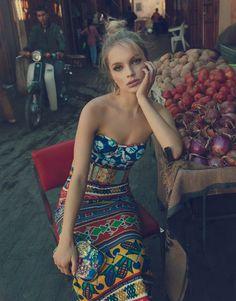 Harper's Bazaar Thailand February 2018 Maria Zachariassen by Francesco Vincenti