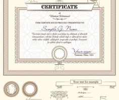 Certificate 7 free vector graphic download happy diwali certificate template and decoration borders design vector 02 yelopaper Images