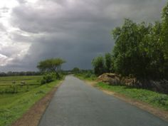Thunderstorm Cloud, we call it Kal Baishakhi (After Winter it Strikes in the month of March and April)