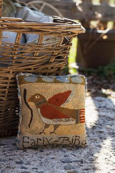 NEW Pattern - EARLY BIRD - from Notforgotten Farm