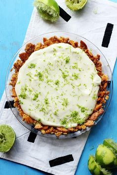 No Bake Key Lime Pie with Ritz Crust