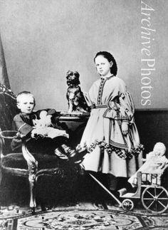- Grand Duchess Maria Feodorovna of Russia (1847-1928) and Grand Duke Sergei Alexandrovitch of Russia (1857-1905)