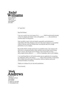 a design that will make your cover letter stand out and get noticed along with - Writing A Cover Letter Template