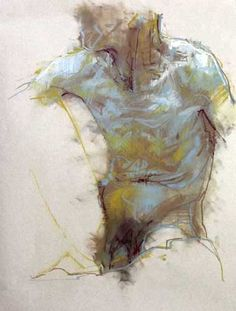 Cian McLoughlin, Torso ~ chalk pastel /The Molesworth Gallery - Dublin, Ireland Pastel Drawing, Pastel Art, Figure Painting, Painting & Drawing, Art Sketches, Art Drawings, Figure Drawings, Kunst Online, Figure Sketching