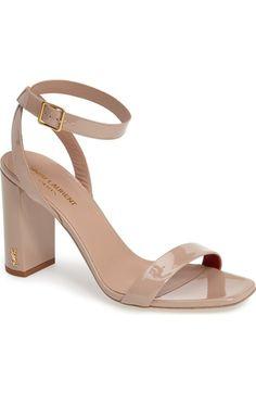 SAINT LAURENT . #saintlaurent #shoes #sandals