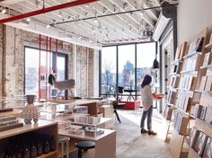 FIRM: nARCHITECTS; PROJECT: A/D/O; LOCATION: Brooklyn, Kings County, NY, United States.  Former warehouse converted into a co-work and exhibition+fabrication space for designers and open to the public.
