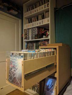 I finally upgraded my comic book storage : DCcomics