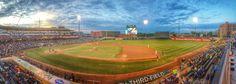 The home the Dayton Dragons - Fifth Third Field. Dayton Ohio