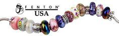 Fenton~ beautiful! Made in USA! available at Myers & Pugh Designer Jewelers