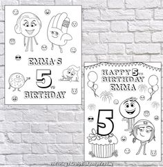 Sell Coloring Pages Online Unique Party Games Emoji Coloring Pages, Coloring Books, Emoji Invitations, Personalized Emoji, Th 5, Emoji Movie, School Chalkboard, Birthday Posts, Movie Party
