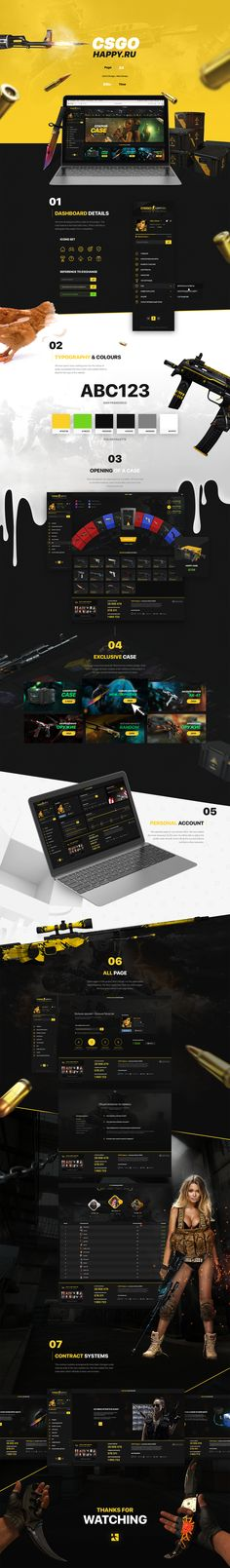 CSGO Happy on Behance