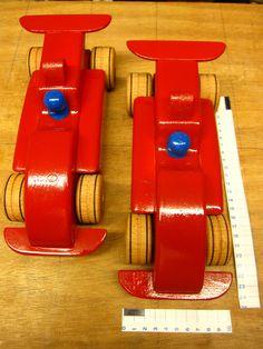 Formule 1 auto,s  25 cm lang 10 cm breed!