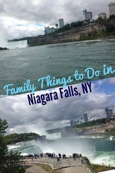 Family things to do in Niagara Falls, NY with kids, including Cave of the Winds and Maid of the Mist.  via @JodiGrundig