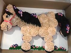 Pull apart horse cupcake cake party ideas Pinterest Pull apart