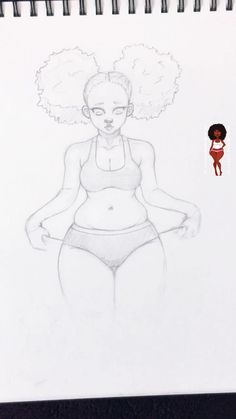 Girl Drawing Sketches, Art Drawings Sketches Simple, Cute Drawings, Art Sketches, Cartoon Art Styles, Art Sketchbook, Art Tutorials, Art Reference Poses, Cute Art
