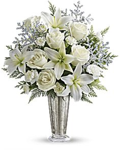 d1c2e823eafd Teleflora s Winter Glow Bouquet - Teleflora Rose Bouquet