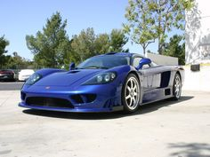 Saleen S7 Twin-Turbo: 248 mph (399 km/h), 0-60 in 2.8 secs. Twin Turbo All Aluminum V8 Engine with 750 hp, base price is $555,000. Smooth and bad-ass. It will make you want to show it off non-stop.