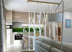 Egy szoba funkcionalitását jelentősen növelhetjük egy kreatív térelválasztó megoldással. A nyitott terek kényelmesek és jól átláthatóak, de néha túl soknak érezhetjük és szükség lehet egyes zónák kisebb nagyobb mértékű elkülönítésére esetleg teljes lezárására - pl. konyha, nappali, háló egy térben kialakításánál.