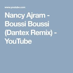 Nancy Ajram - Boussi Boussi (Dantex Remix) - YouTube