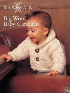 Big Wool Baby Cardigan