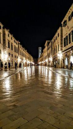 Stari Grad (Old Town) in Dubrovnik, Duborvačko-neretvanska