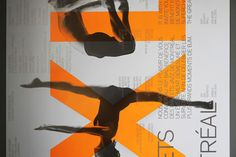 Ballets Jazz de Montréal / Identity anniversary by Paprika, via Behance Jazz, Identity, Ballet, Typography, Lettering, 40th Anniversary, Montreal, Eye Candy, Bloom