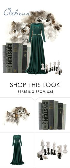 """""""Athena"""" by missmygreenhair ❤ liked on Polyvore featuring Alexis Mabille"""