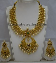 Jewellery Designs: Incredible Kundan Chandbali Chain