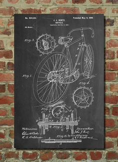 Racing Bicycle Poster, Cycling Art, Bicycle Print, Bicycle Art,PP25