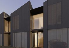 Victoria Multi Residential Current 6 townhouses Tucked into a long, narrow site in Brunswick, Albion Street…