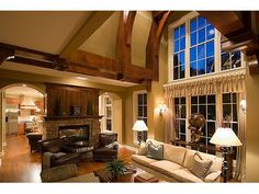 Great Room Photo, house plan 007H-0135