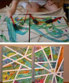 Pintura, trazos