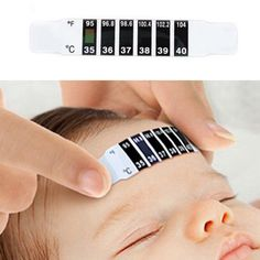Hot Baby Health Care Forehead Strip Head Thermometer Fever Body Temperature Test