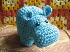 Amigurumi Zoo week continues! Today: The Hippo