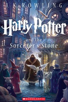 "Harry Potter and the Sorcerer's Stone | ""Harry Potter"" Gets Seven New Illustrated Covers.  Cool covers!"