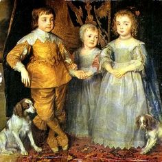 The Children of Charles I of England-