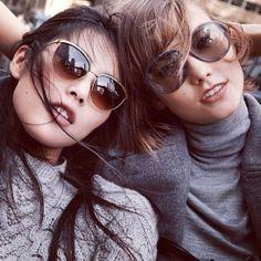 Liu Wen et Karlie Kloss http://www.vogue.fr/mode/mannequins/diaporama/la-semaine-des-tops-sur-instagram-3/15712/image/872152#!liu-wen-et-karlie-kloss-la-semaine-des-tops-sur-instagram