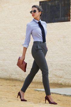 Man's Way To Raise One's Feminity Fall Streetstyle Inspo women fashion outfit clothing stylish apparel @roressclothes closet ideas.