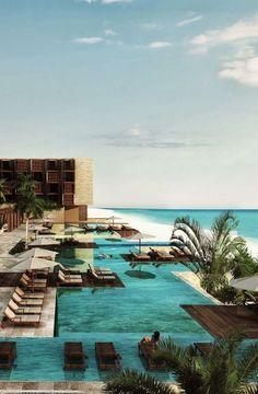 Grand Hyatt Playa del Carmen- Can't wait to go!! :)