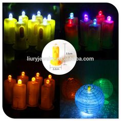 Colorful LED Lantern lamp Christmas Party Balloon Decoration Light Halloween Decorations