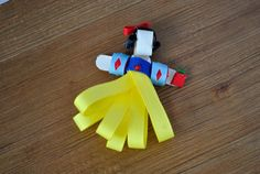 Snow White Hair Clip by CabbagesforKings on Etsy